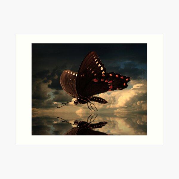 Le Butterfly Art Print