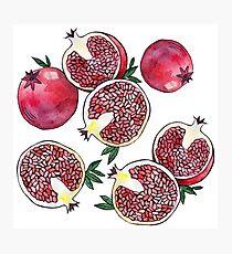 Pomegranate fruit Photographic Print