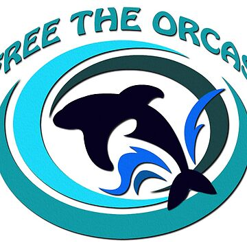 Free the Orca's by rainsdesigns