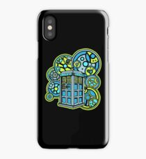 Time and Relative Dimension in Space in Gallifreyan Lettering! iPhone Case/Skin