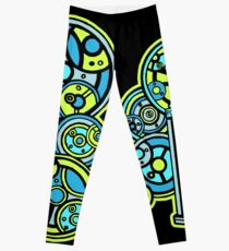 Time and Relative Dimension in Space in Gallifreyan Lettering! Leggings