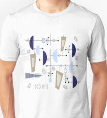 Atomic Era Space Age Inspired Unisex T-Shirt