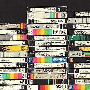 VHS STACK NOSTALGIEN von colorcollective