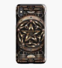 Steampunk Pentacle iPhone Case
