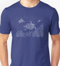 Goorlil - turtle / Simply white  Unisex T-Shirt