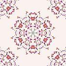 Floral Mandala II by raquelcatalan