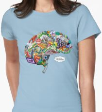 Pixelated Memories Women's Fitted T-Shirt