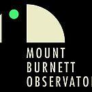 MBO Logo (dark background) by Mount Burnett Observatory