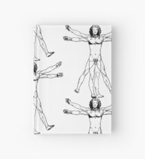 Leonardo perfect proportions Hardcover Journal