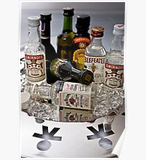 Death by Mini Bar by David Petranker Poster
