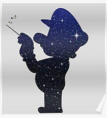 Mario galaxy Poster