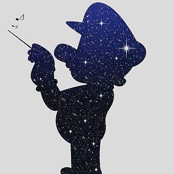 Mario galaxy by Ednathum