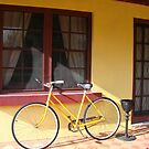 Yellow Bicycle by lilleesa78