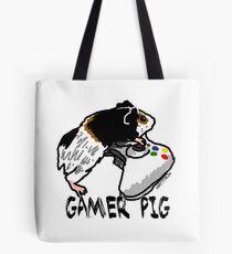Guinea pig video gamer Tote Bag
