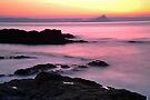 Dawn Light: St Michael's Mount: Penzance Cornwall UK by DonDavisUK