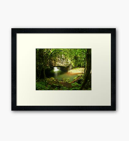 Natural Arch... Framed Print