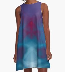 Geometric Photoart A-Line Dress
