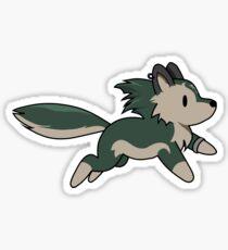 Chibi Wolf Link Sticker