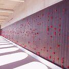 Crimson Poppies by JadeHarmony