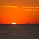 Bass Strait Sunrise by Peter Eshuis