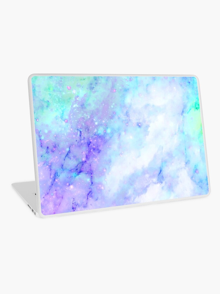 Aesthetic Trippy Purple Wallpaper Laptop Skin