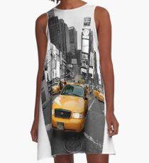 ICONIC TIMES SQUARE NEW YORK CITY USA - Professional Photo A-Line Dress