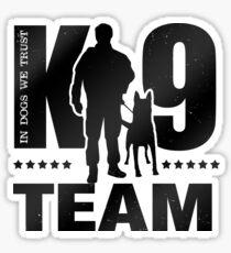 K-9 Team - K9 Unit - Malinois Sticker