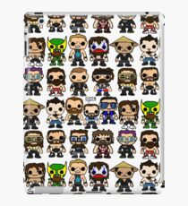 QWA Vinyl Pop-fighters iPad Case/Skin