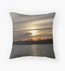 Last Sun At Grays Lake Throw Pillow