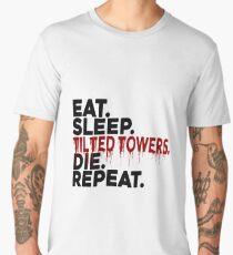 Eat Sleep Tilted Towers v2 Men's Premium T-Shirt