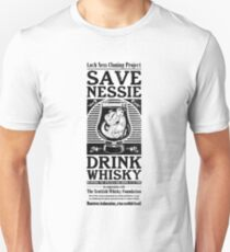 Save Nessie, Drink Whisky! Unisex T-Shirt