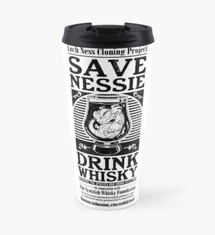 Save Nessie, Drink Whisky! Travel Mug