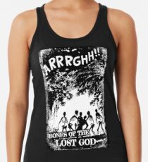 Arrrghh!! a BONES of the LOST GOD t-shirt Racerback Tank Top