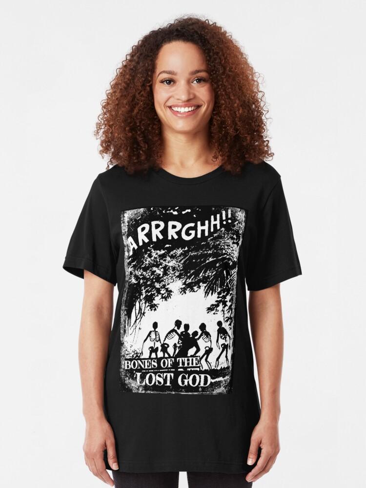 Alternate view of Arrrghh!! a BONES of the LOST GOD t-shirt Slim Fit T-Shirt