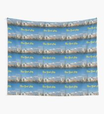 MANHATTAN NEW YORK CITY ICONIC SKYLINE - PRO PHOTO Wall Tapestry