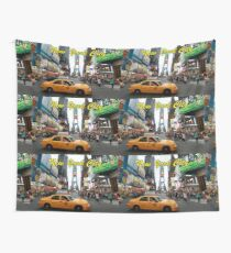 Times Square New York City Professional Photo Wall Tapestry