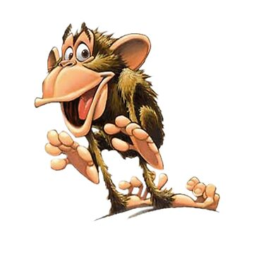 Funny Monkey by Vitalia