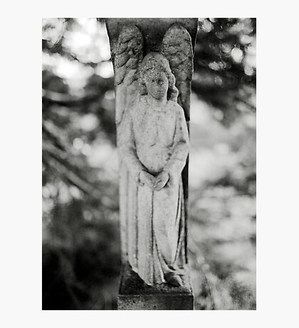 Temple Hill Angel Photographic Print