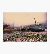 walney boat Photographic Print