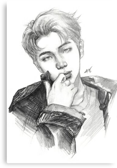 Rm Pencil Drawing Metal Prints By Forinfinity Redbubble