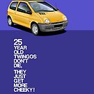 Renault Twingo 25th Anniversary Artwork by RJWautographics