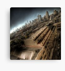 The Big Smoke Canvas Print