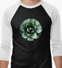 Agave Parryi (Tequila Agave) Men's Baseball ¾ T-Shirt