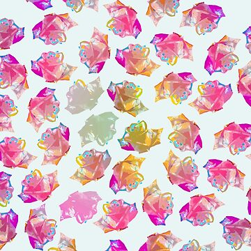 MULTICOLOURED ROSES by qtee