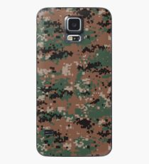 Digital Woodland Camouflage Phone Cases Case/Skin for Samsung Galaxy