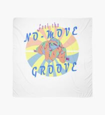 Feel The No Move Groove Crazy Lazy Sloth Scarf