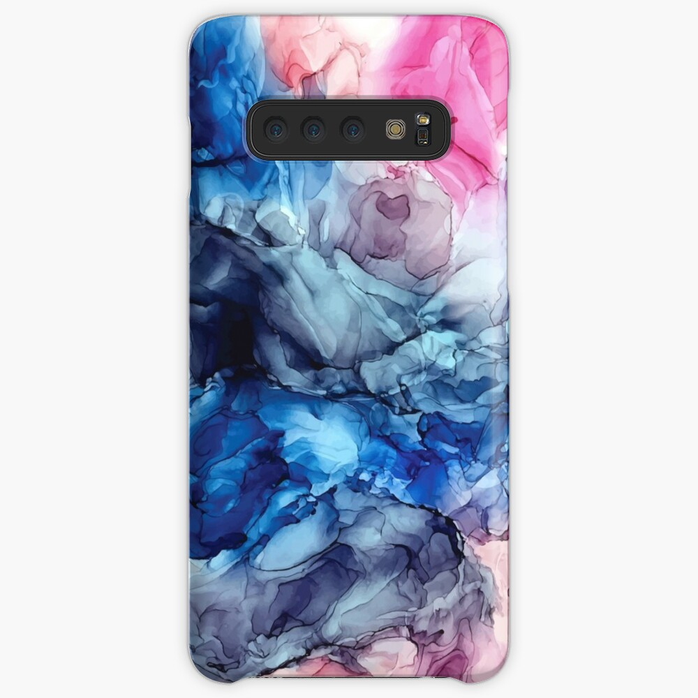 Soul Explosion - Original Abstract Fluid Art Painting Case & Skin for Samsung Galaxy