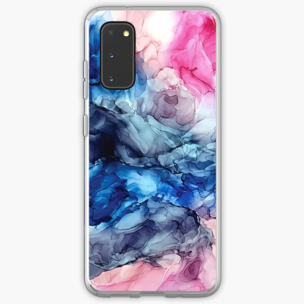 Soul Explosion - Original Abstract Fluid Art Painting Samsung Galaxy Soft Case