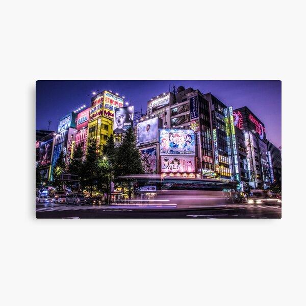 Akihabara Japan by Tokyo Lens Canvas Print