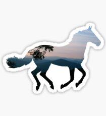 Mountain Horse Sticker